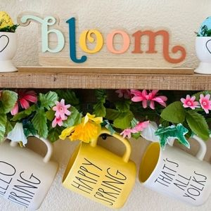 Other - Bloom Spring wooden sign